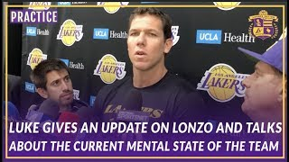 Lakers Interview: Luke Gives An Update On Lonzo & On The Current Mental State of the Team by Lakers Nation