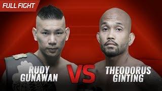 🔥[HD] Rudy 'Ahong' Gunawan vs Theodorus Ginting || One Pride FN #30