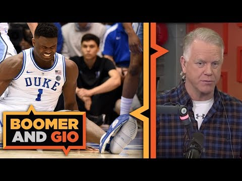Video: Zion DESTROYED his shoe | Boomer and Gio