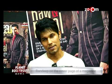 Randeep Hooda featured on a Magazine cover page | Bollywood News 20 October 2014 06 PM