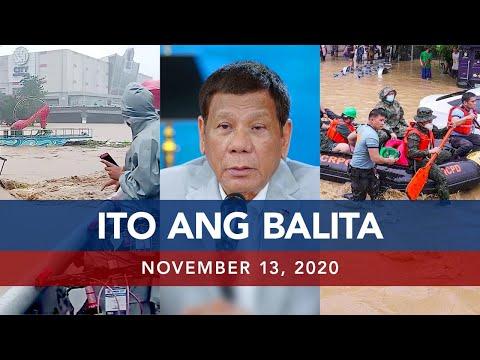 UNTV: Ito Ang Balita | November 13, 2020