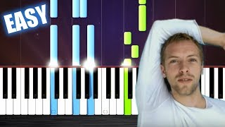 Video Coldplay - The Scientist - EASY Piano Tutorial by PlutaX MP3, 3GP, MP4, WEBM, AVI, FLV Agustus 2018