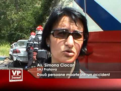 Două persoane moarte într-un accident