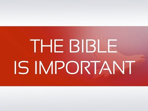 L - Lesson 2 : THE BIBLE IS IMPORTANT
