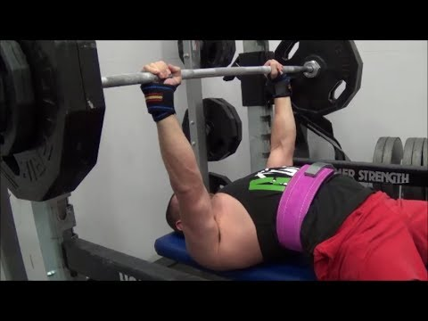 1RM Bench Press Progress on Alex Viada's Max Effort Template (NOV - DEC 2013)