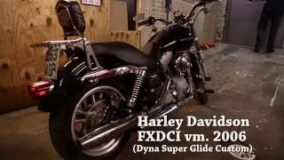 3. How to change engine oil on Harley Davidson Dyna 2006
