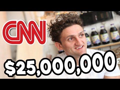 WHY CASEY NEISTAT REALLY QUIT VLOGGING!?  CNN Buys Beme for 25 Million Dollars!