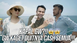 Video CRAZY RICH PLUIT BAYARIN KAPAL GW CASH!!! GOKIL!!! PART 2 MP3, 3GP, MP4, WEBM, AVI, FLV Juli 2019