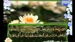 المصحف الكامل برواية ورش  للشيخ عمر القزابري الجزء 08 HD