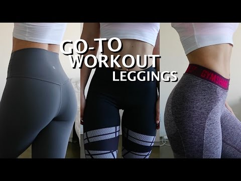 Favorite WORKOUT Leggings |Try on & Review|