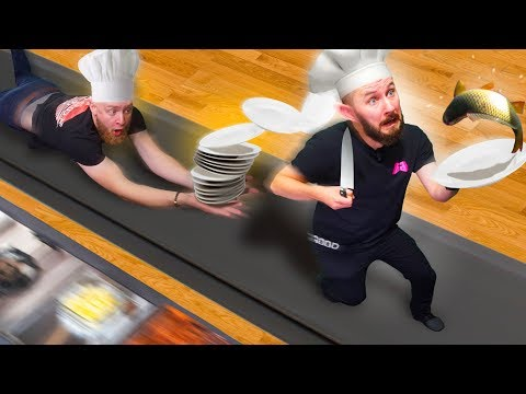 TREADMILL COOKING CHALLENGE! | Overcooked 2