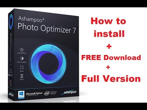 How to install Ashampoo Photo Optimizer 7.0.0.34 Full + FREE Download