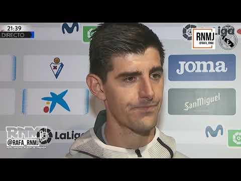 Declaraciones de Courtois post Eibar 0-4 Real Madrid Jornada 13