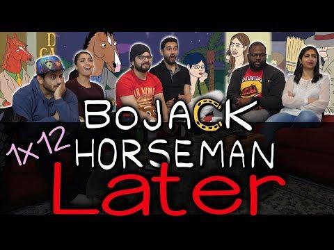BoJack Horseman - 1x12 Later - Season 1 Finale Group Reaction