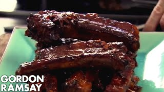 Video Sticky Pork Ribs - Gordon Ramsay MP3, 3GP, MP4, WEBM, AVI, FLV Februari 2019