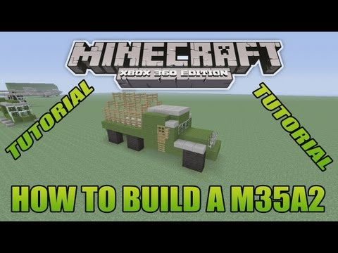 Minecraft xbox edition tutorial how to build a b2 stealth bomber