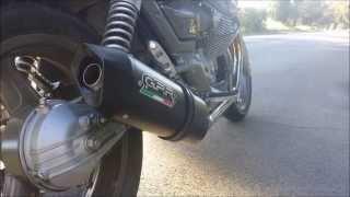 10. Moto Guzzi Breva 750 | G.P.R. Furore Nero Exhausts