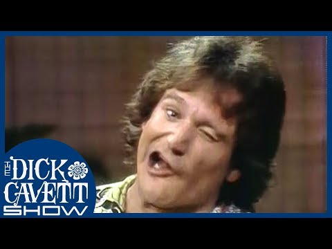 Robin Williams Takes Dick Cavett For A Tour On Set | The Dick Cavett Show