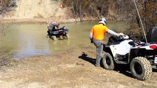 10. 2015 Polaris Sportsman Touring winchout a 400 Sportsman