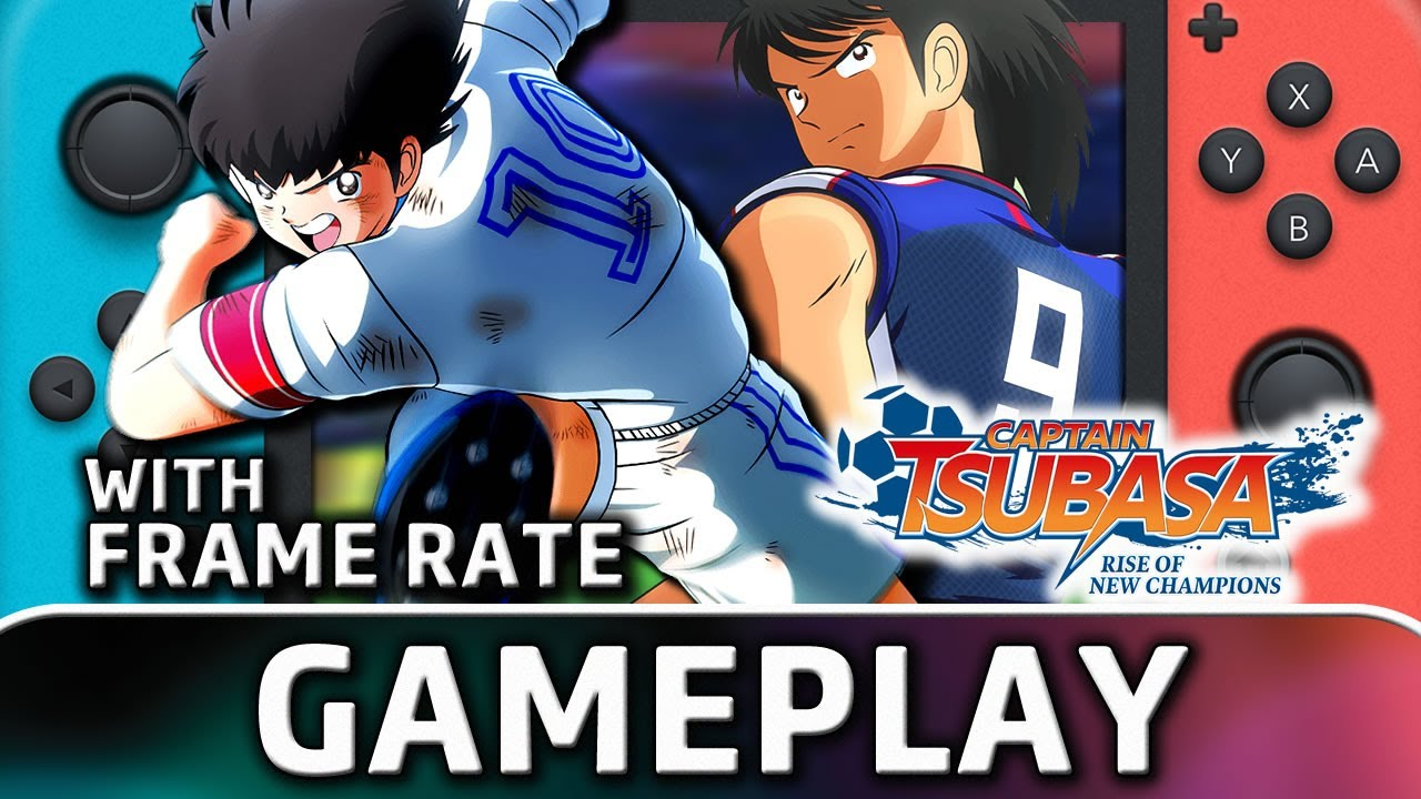 Captain Tsubasa: Rise of New Champions   Nintendo Switch Gameplay and Frame Rate