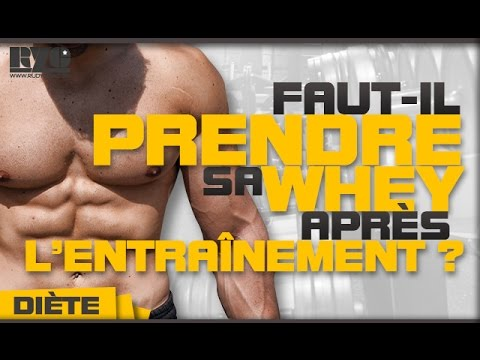 comment prendre whey