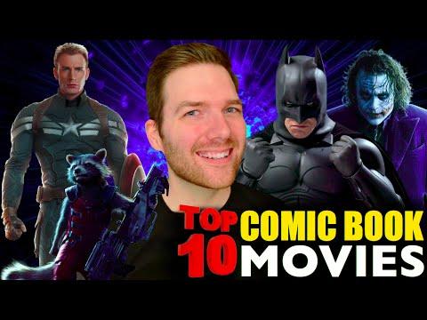 Top 10 Comic Book Movies