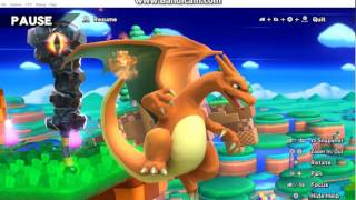CEMU 1.5.2 Super Smash Bros -Browser VS Charizard