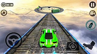 İmpossible Stunt Car Tracks 3D -  Android Gameplay FHD
