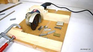 Video How to Make an Angle Grinder Holder with Miter Gauge MP3, 3GP, MP4, WEBM, AVI, FLV November 2017