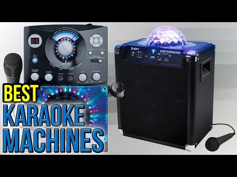 10 Best Karaoke Machines 2017