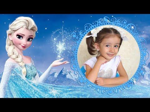 Кукла Принцесса Эльза из мультфильма - Холодное сердце