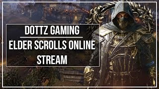 """Doing assorted activities on the magblade tonight! At 10k subs, Dottz Gaming merchandise will be released :D So if youre not subbed hit that sub button!SCHEDULE:  Mon & Weds 7:00 PM - 10:30 PM ESTDONATE and be recognized for it on stream! - https://youtube.streamlabs.com/dottzgamingSUPER CHAT is also an available avenue to donate and a way to stand out in chat! SUPPORT the channel through Patreon! - https://www.patreon.com/dottzgaming JOIN our community discord server: https://discord.gg/abJm2NfSTREAM RULESBe respectful to the streamer, moderators, and other viewers.No promotion (or discussion) of other content creators.No racism, sexism, or other hate language.No discussion on politics, religion, or other sensitive topics.No links. Links can be posted by moderators only.DONATION HALL OF FAME1. Kasperon Gaming: $415.002. Joe Andreen: $100.003. Anonymous: $83.66COMMANDS!addons - What addons I currently use in ESO!help - Complete beginner guide to ESO!howto - Guide on how to build your character in ESO!gear - Guide on the best gear for every ESO class/role!guides - All my ESO guides!guild - Dippin Dottz guild informationLINKS● VISIT my website: http://dottzgaming.com● FOLLOW me on Twitter! - http://twitter.com/dottzgaming● LIKE my Facebook page! - http://facebook.com/dottzgaming● FEEL THE PULSE with Catalyst Energy Mints! - https://www.catalystmints.com/store?t=dottzgaming● JOIN Curse's MCN the Union for Gamers! - https://www.unionforgamers.com/apply?referral=lch0v7uxswg3f4● PC Specs & Peripherals - http://pastebin.com/xkfeAVWp● Get cheap game codes from the G2A Marketplace! - https://www.g2a.com/r/dottzgamingCREDITS● Production Music courtesy of Epidemic Sound: http://www.epidemicsound.com● Alert sounds by Holder: https://www.youtube.com/channel/UCwbuxKG_nG2LZ10KBWPPomA● NOTE: All video and images used in this stream are believed to fall under the """"fair use"""" clause of the United States of America copyright law. If there are any issues with any sound, imagery, video, """