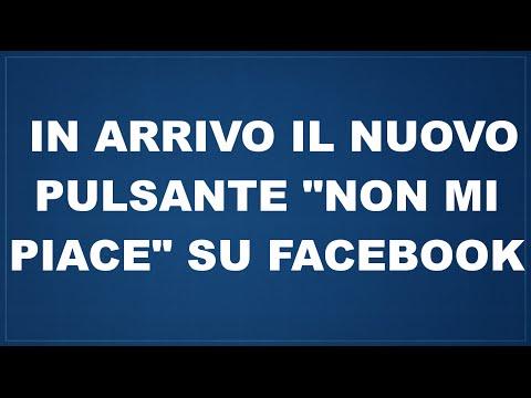 """facebook introduce il tasto """"non mi piace""""!!"""