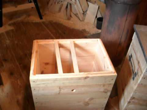 улей лежак на высокую рамку по конструкции лазутина