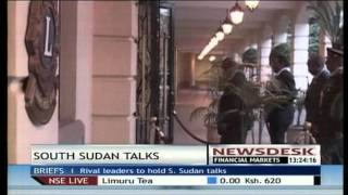 South Sudan Leaders Meet Face To Face In Ethiopia