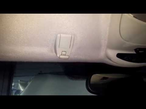 Mercedes-Benz How to Remove Replace Sun Visor Clip