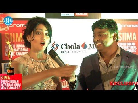 Shriya Sharan Loves all Tamil Audience@ SIIMA 2014 - Red Carpet