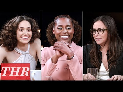 THR Full Comedy Actress Roundtable: Emmy Rossum, Issa Rae, Pamela Adlon, America Ferrera & More!