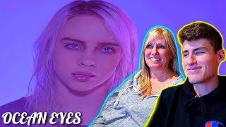 MOM REACTS TO BILLIE EILISH - (Ocean Eyes & IDontWannaBeYouAnymore)