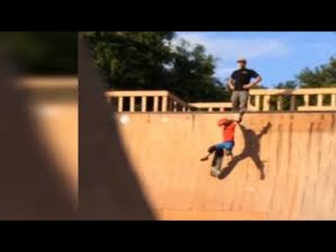 Video of man kicking son down ramp at Jacksonville skate park goes viral