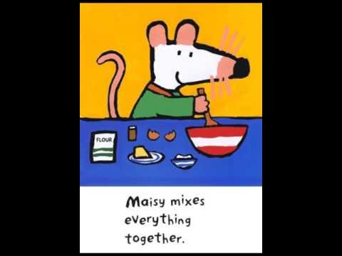 Maisy makes gingerbread