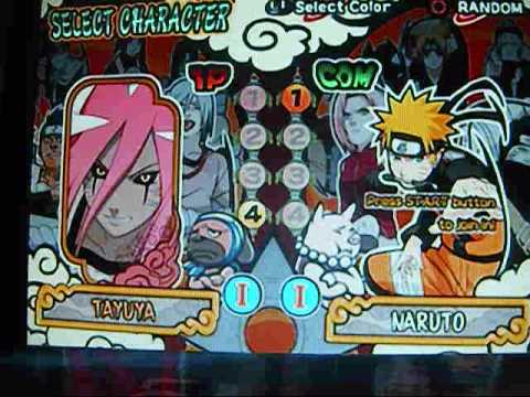 naruto shippuden ultimate ninja 4 cheats ps2