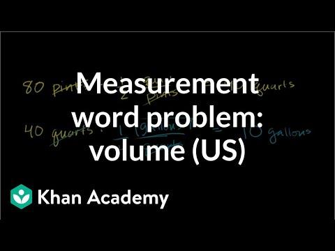 Measurement word problem: blood drive (video)   Khan Academy