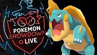 Enter DREDNAW! Pokemon Sword and Shield! Drednaw Pokemon Showdown Live! by PokeaimMD