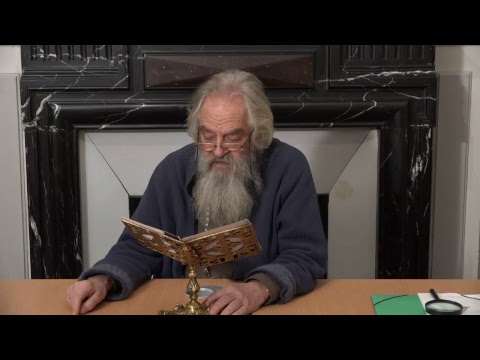 CDS Paris, 23 janvier 2019: Pr. Nicolas Ozoline - Iconologie