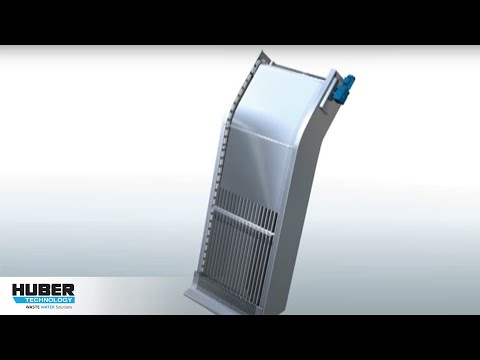 Animation: HUBER Coarse Screen / Grobrechen TrashMax®: Animation