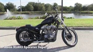 4. Used 2005 Harley Davidson Custom  Sportster 883  for sale in