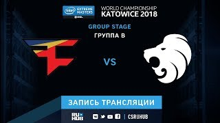FaZe vs North - IEM Katowice 2018 - map2 - de_mirage [SleepSomeWhile, GodMint]