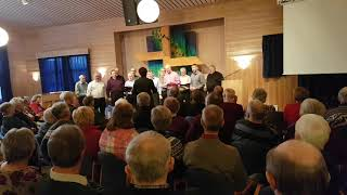 Norges Fjeld,Kjerulf/Wergeland Olavs Menn på Mjuklia 3. april 2019