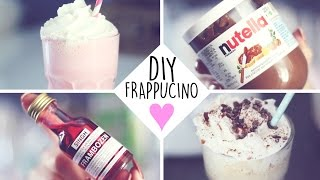 DIY: COTTON CANDY & NUTELLA FRAPPUCINO ♥